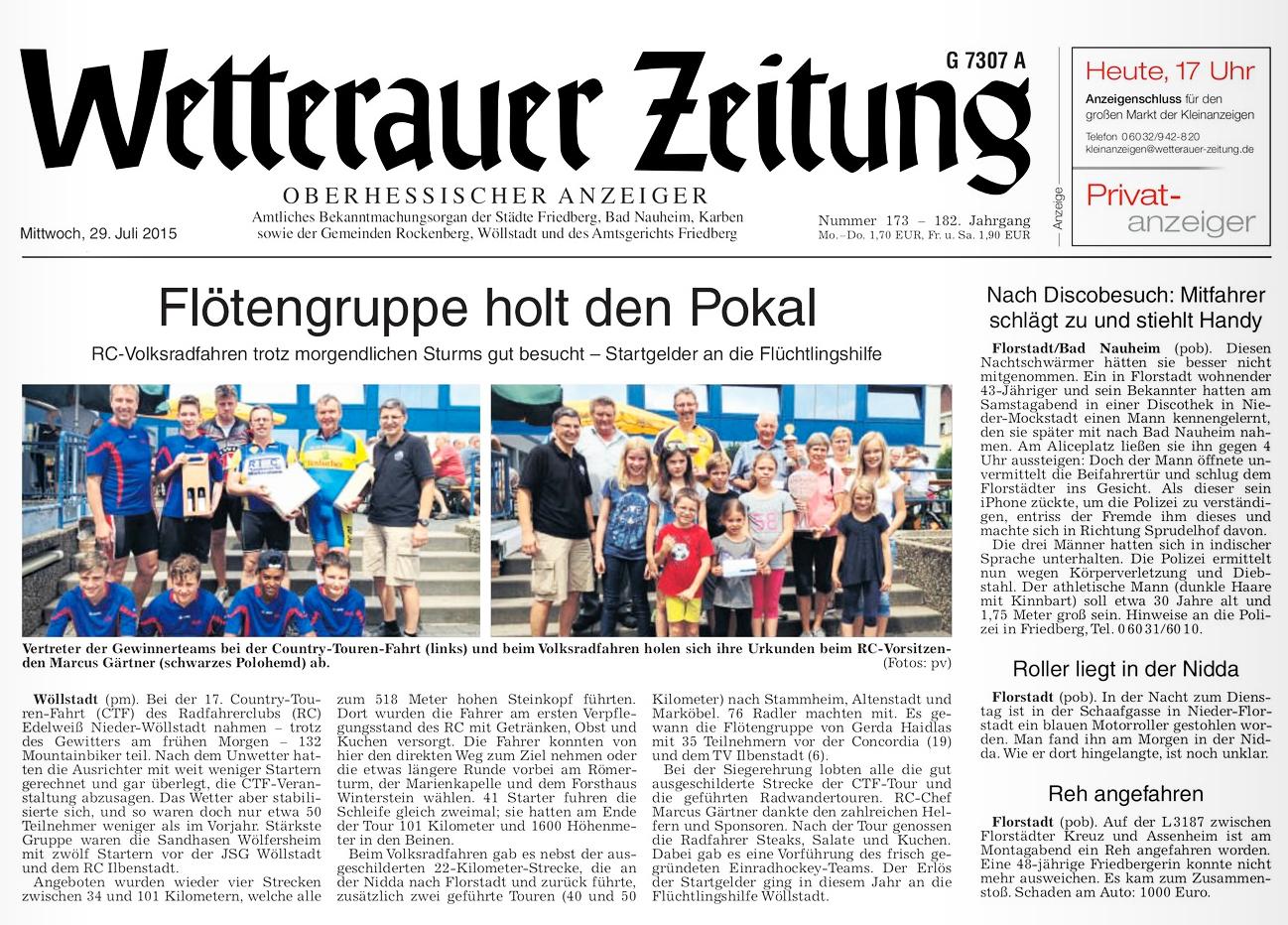 Wetterauer Zeitung | E-Paper