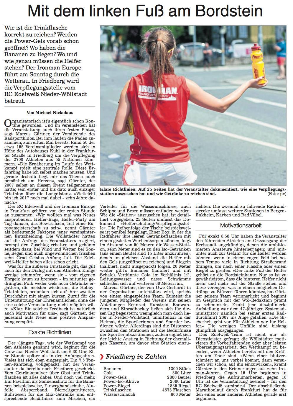 Wetterauer Zeitung | Anzeige suchen
