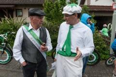 Festumzug zum 100-jährigen Bestehen des RC Edelweiss